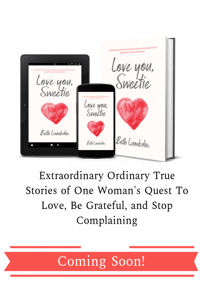 Love you, Sweetie by Beth Lambdin 2019